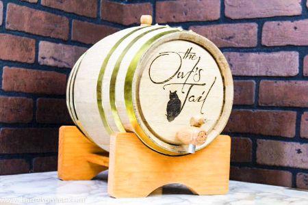 Picture for category Brass Hoop Oak Barrels