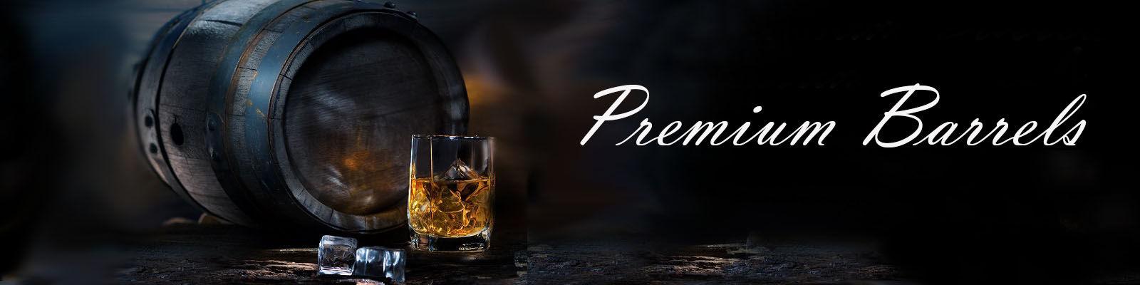 Premium oak barrels