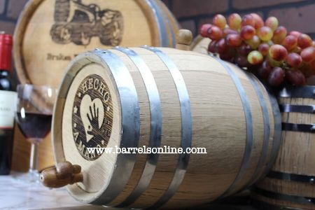 Picture for category Oak Maturing Barrels (Charred) sizes 1L, 2L, 3L, 5L, 10L and 20L
