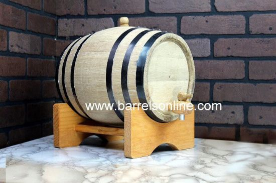 10 liter black band barrel