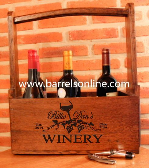 Picture of Wine bottle carrying case