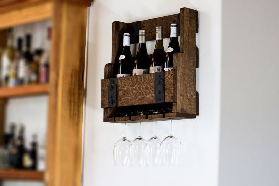 wine bottle hanging case
