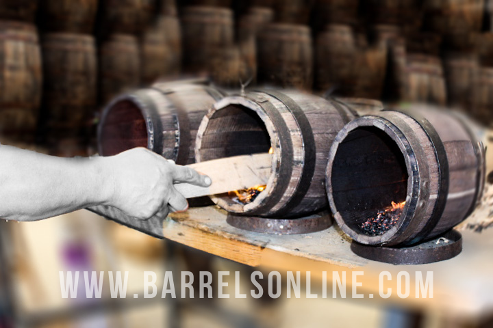 Char levels 3 & 4 are most recommended for aging whisky.